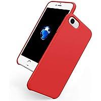 KUTOP iPhone 8 ケース iPhone 7 ケース 液状シリコン製 iPhone 7 カバー 超軽量 純色 おしゃれ 耐衝撃カバー 薄型 防污 擦り傷防止 完全保護 スマホケース 多色選択 男女兼用