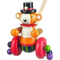 Orange Tree Toys Push Along Wooden Toy - CircusTiger