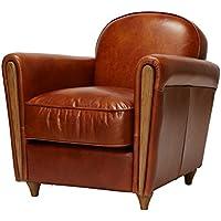 【ジャーナルスタンダード ファニチャー正規品】アクメ ファニチャー ACME Furniture ソファ ブラウン 本革 スムースレザー 1人掛け 1シーター オークスクラブチェア OAKS CLUB  CHAIR (smooth)