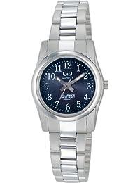 [シチズン キューアンドキュー]CITIZEN Q&Q 腕時計 SOLARMATE (ソーラーメイト) ソーラー電源 アナログ表示 5気圧防水 ブラック H971-205 レディース