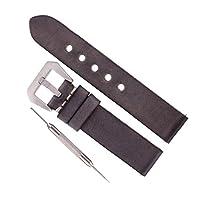全4サイズ 人工レザー 腕時計バンド ウオッチストラップ 交換ベルト 柔軟性 - 20mm