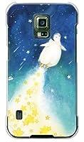 携帯電話taro docomo GALAXY S5 Active SC-02G ケース カバー (ペンギンロケット) SAMSUNG SC-02G-OCA2-0371