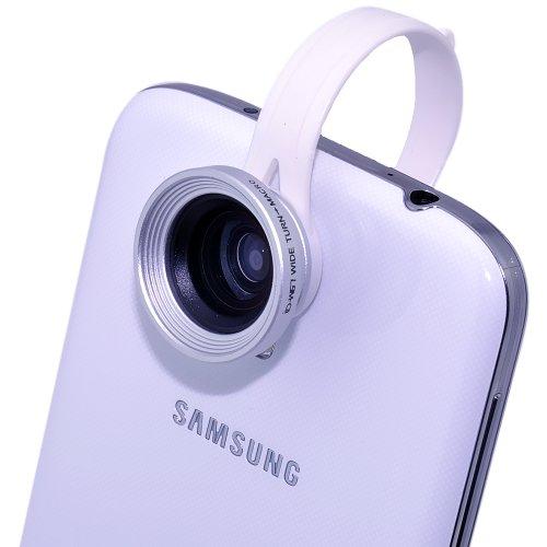 VicTsing 0.67x取り外し可能 広角レンズマクロレンズ写真カメラキット iPhone6,iPhone6 plus 5 5G 4G 4S 4 Samsung Sony HTC携帯電話やタブレットPC対応 [並行輸入品]