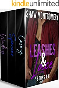 Leashes & Lace Books 4-6: MM Romance Boxed Set (English Edition)