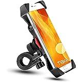 Bike Phone Mount Tiakia Anti Shake and Stable Cradle Clamp with 360° Rotation Bicycle Phone mount / Bike Accessories / Bike P
