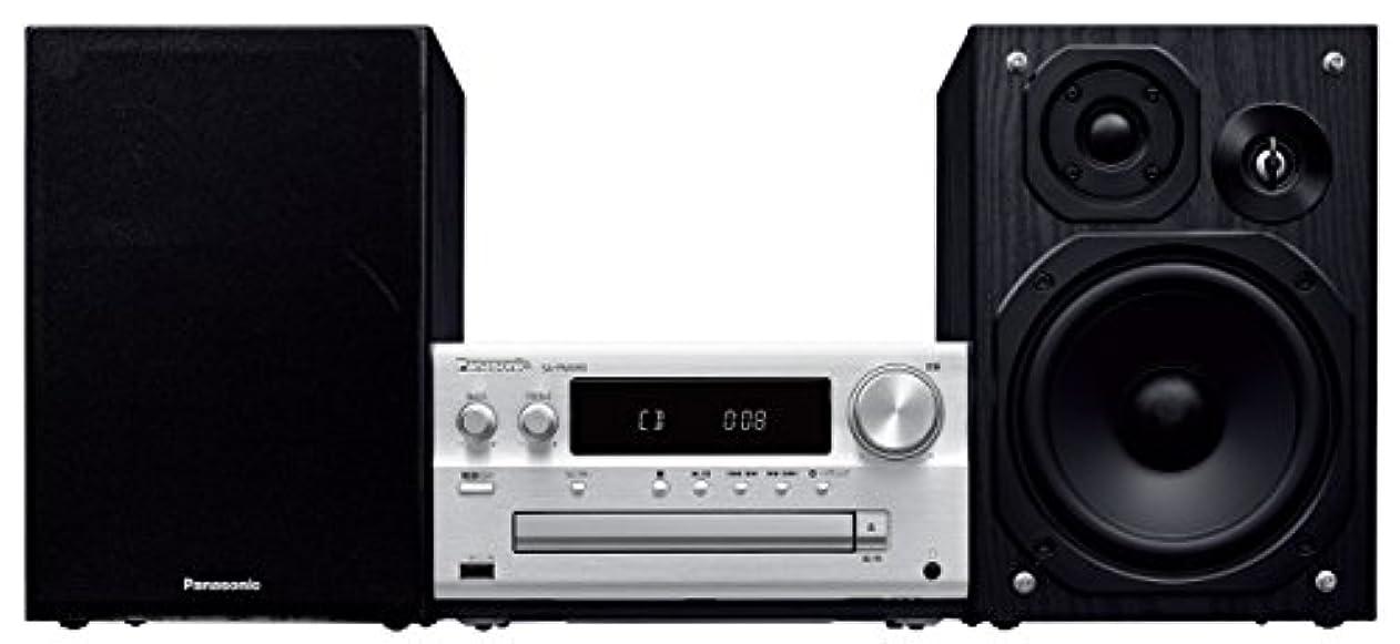 王女恋人受け皿パナソニック ミニコンポ ハイレゾ音源対応 USBメモリー/Bluetooth対応 シルバー SC-PMX80-S