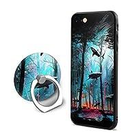SuperIE IPhone 7 IPhone 8 専用 カバー スマホケース 携帯ケース リング付き 鮫 樹林 携帯カバー おしゃれ 耐衝撃 指紋防止 全面保護 薄くて軽い スクラッチ防止 スマホ アイフォンケース