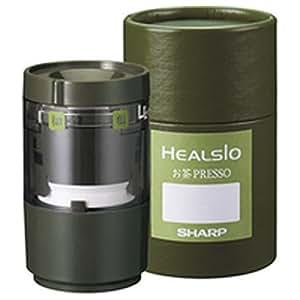 SHARP お茶プレッソ用 お茶うす(茶筒風ケース付) TH-GU1