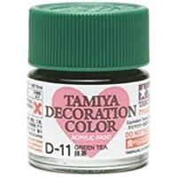 タミヤ デコレーションシリーズ デコレーションカラー スタートセット D-11 抹茶