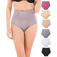 Barbra's 6 Pack Women's Light Control Full Coverage Girdle Panties