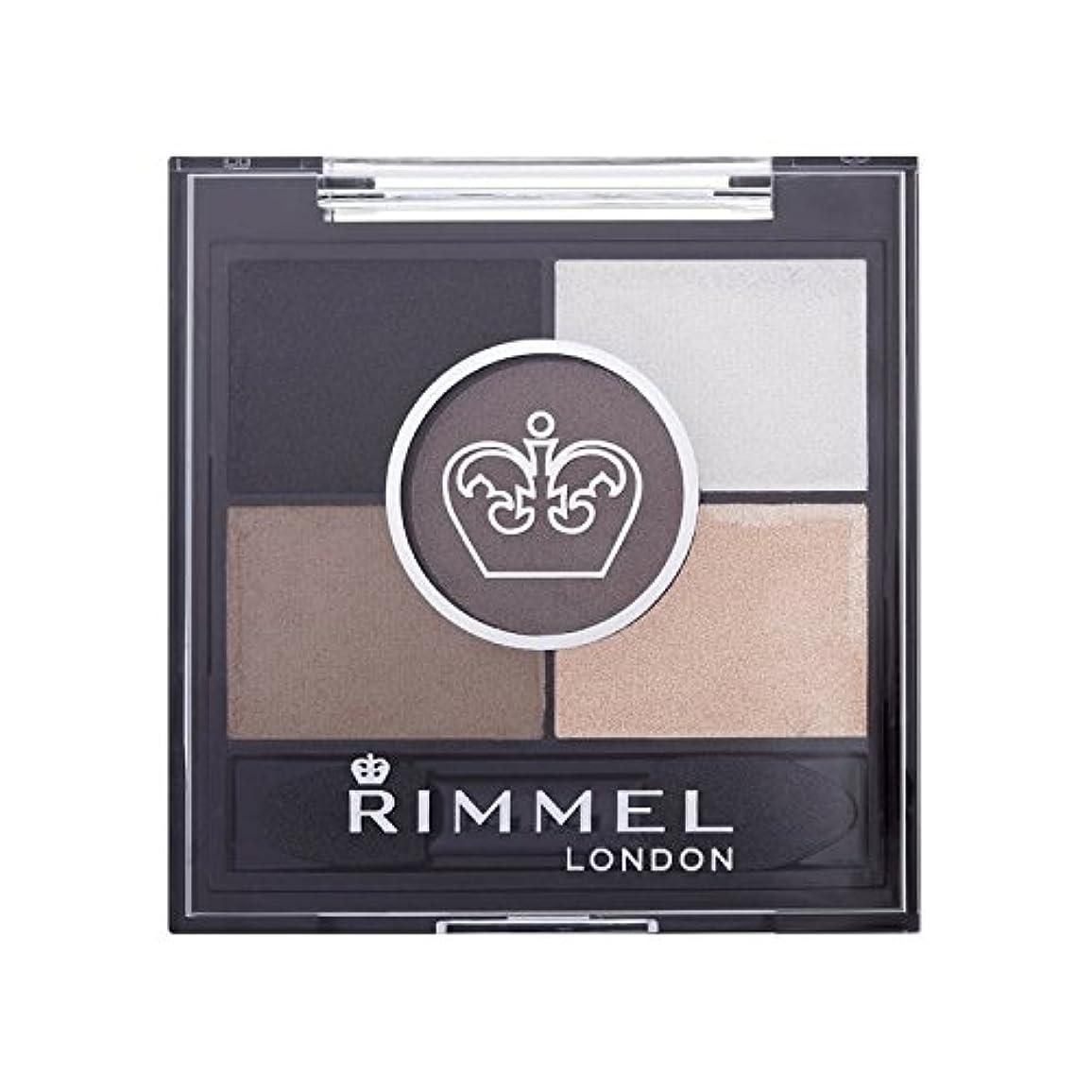 電気陽性アプトミットRimmel 5 Pan Eyeshadow Foggy Grey - リンメル5パンアイシャドウ霧グレー [並行輸入品]