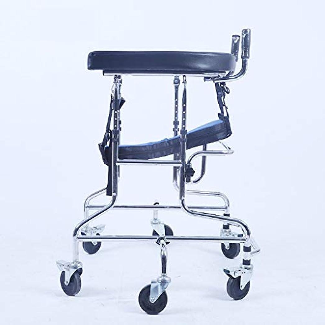 バルクスタイルなる子供下肢トレーニング?リハビリ機器/リハビリ機器/スタンディングウォークスタンド/ウォークエイド/ウォーカー/スタンドホイール付きシートホイール(サイズ:C)