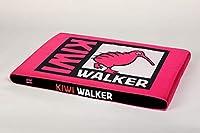 キウイウォーカー低反発ベッド大(80 x 55 x 6 cm) - ピンク/ブラック、L