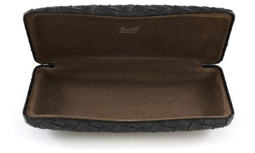 Zoff(ゾフ) 編み込みデザインがポイントのメガネケース(Z-Vega_BK)