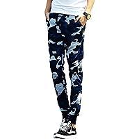 [ニーマン] メンズ スウェット カモフラ スキニー 迷彩 リブジョガーパンツ M~XXL