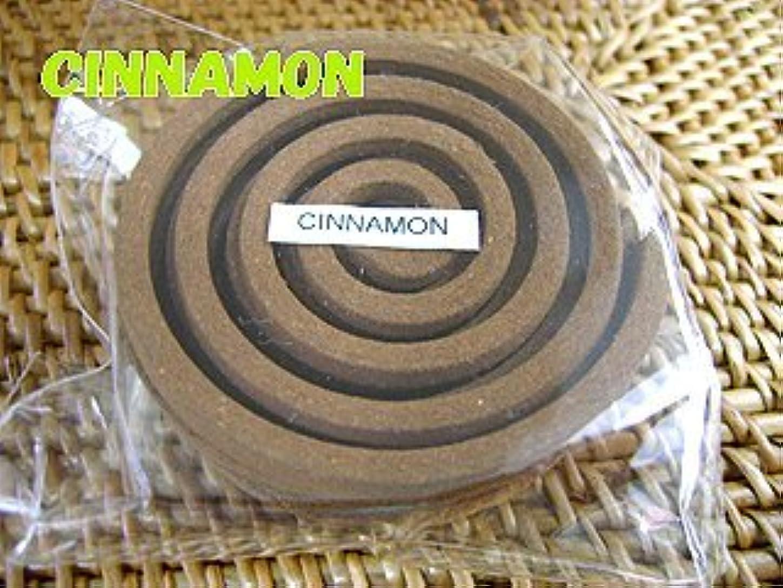 一貫した中央値暫定のTHAI INCENSE タイのうずまき香COILS INCENSE【CINNAMON シナモン】