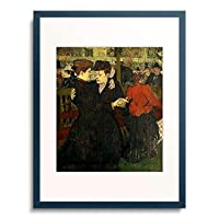 アンリ・ド・トゥールーズ=ロートレック 「Im Moulin Rouge. 1892.」 額装アート作品