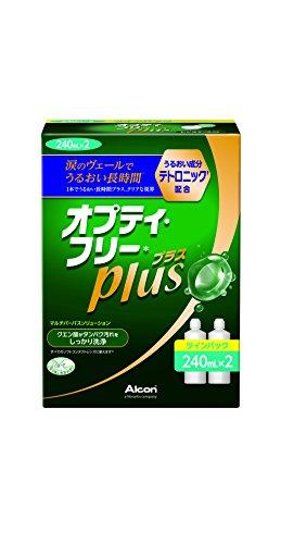 日本アルコン オプティ・フリープラス 洗浄・消毒・保存液(ソフト用) 240mLx2 【医薬部外品】