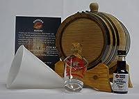 1リットル Charred Oak バレルフレーバーキット エッセンス付き 自分だけのフレーバーアルコールを作る 1 liter 1LKYBKbk