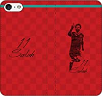 iPhone/Xperia/Galaxy/他機種選択可:サッカー/グラフィティ/へのへのもへじタッチ手帳ケース(デザイン:リヴァプール/11番_01) 12 iPhone XR
