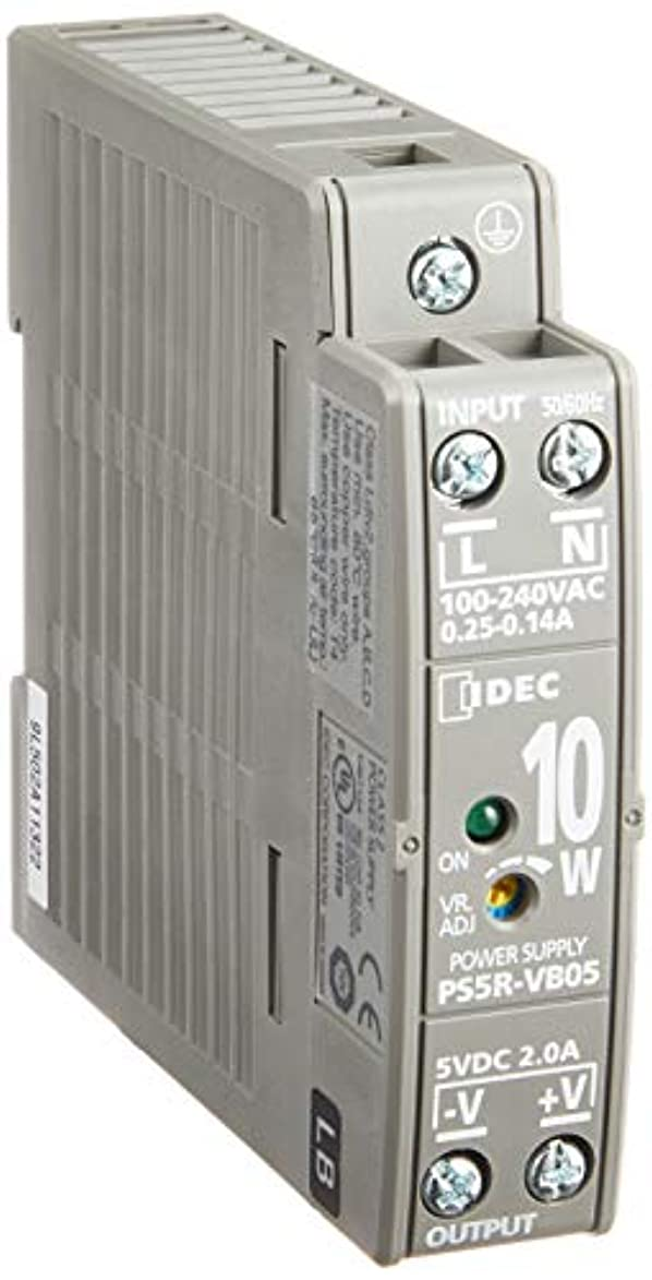 に渡って通行人薬を飲むIDEC(アイデック) スイッチング電源 PS5R-V形 DINレール取付 AC100~240V PS5R-V