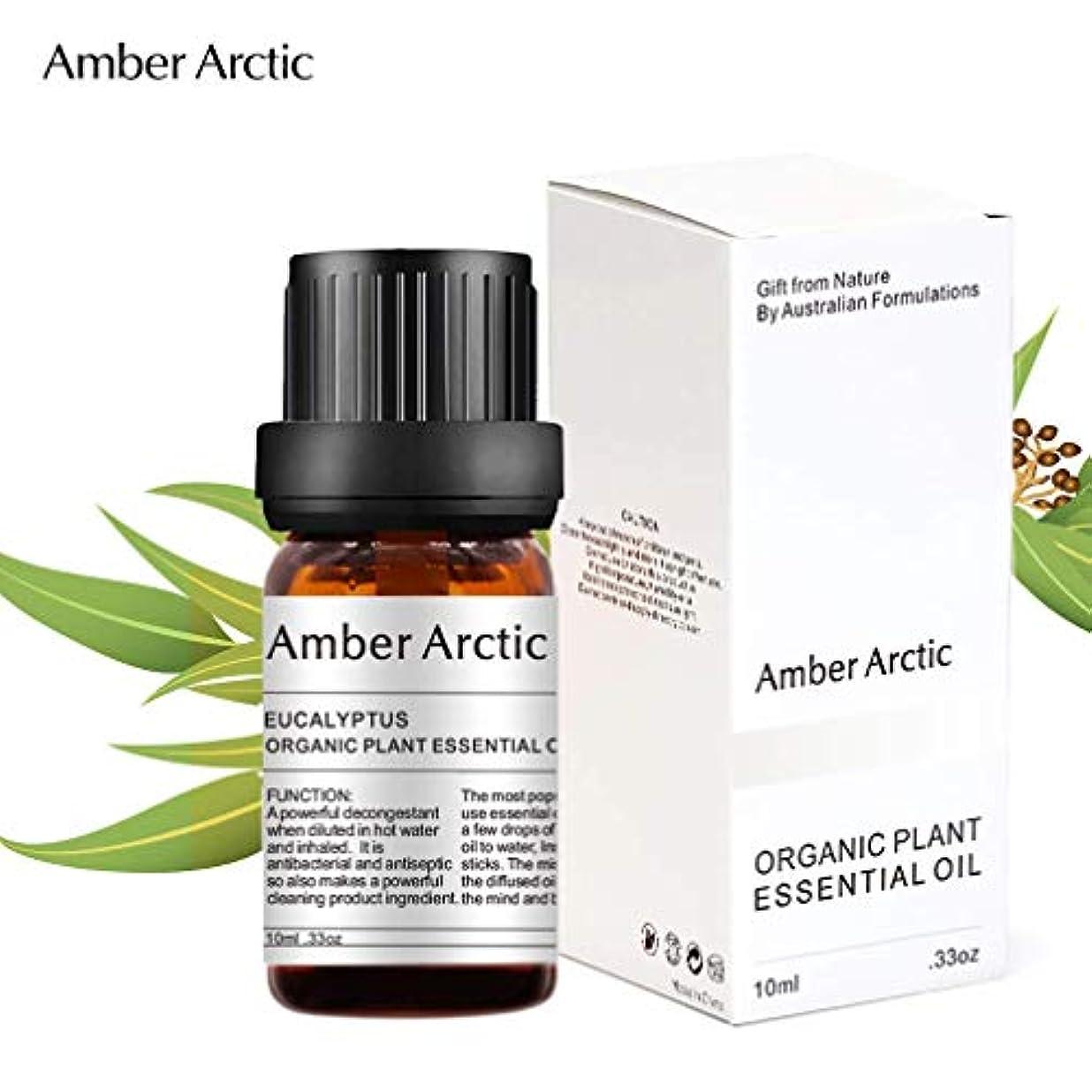 唇トレッド締めるAmber Arctic ユーカリ エッセンシャル オイル、 ディフューザー 用 100% 純粋 天然 アロマ ユーカリ オイル (10ミリリットル)