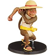 【Amazon.co.jp限定】 フィギュアーツZERO Artist Special ONE PIECE モンキー・D・ルフィ as サル (朝隈俊男×尾田栄一郎) 約100mm PVC&ABS製
