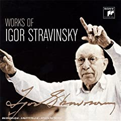 Works of Igor Stravinsky [Box set]の商品写真