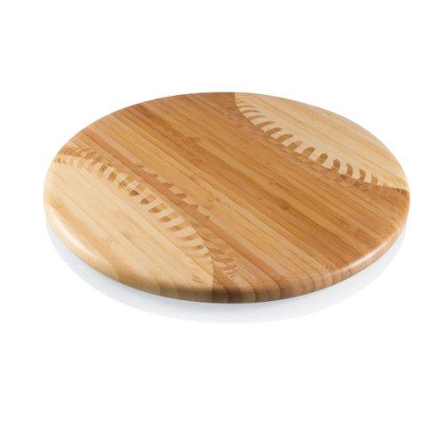 野球ボール型の高級木製まな板