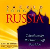 Sacred Songs of Russia by Gloriae Dei Cantores