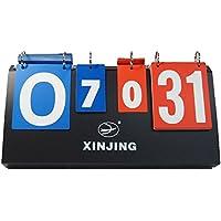 【USK STORE】 ミニ 得点板 スコアリングボード コンパクト 収納 携帯 折りたたみ 卓球 バレー ミニカウンター