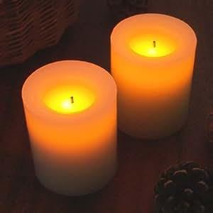 Flameless Candles CA25051 フレームレスキャンドル [バニラ]  シャンパン