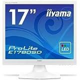 iiyama ディスプレイ モニター E1780SD-W1 17インチ/SXGA/LED/スクエア型
