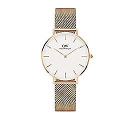[ダニエルウェリントン]DANIEL WELLINGTON 腕時計 レディース クラッシックペティット メルローズ ホワイト ローズゴールド 32mm DW00100163 [正規輸入品]