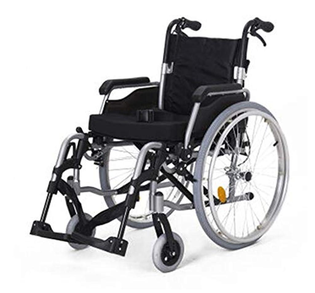 息を切らしてアジャ食料品店折り畳み式車椅子、屋外で旅行する高齢者、車椅子は、身体障害者、脳性麻痺、リハビリテーション患者にとって良いヘルパーです