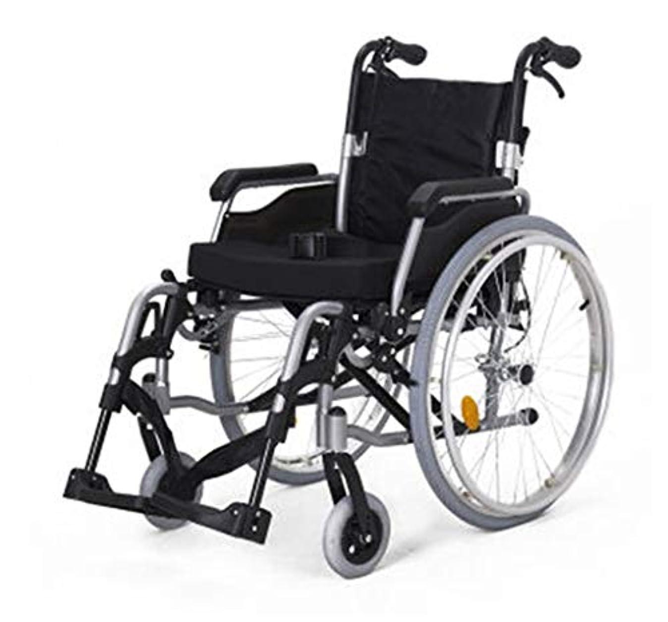 マンハッタン行政みがきます折り畳み式車椅子、屋外で旅行する高齢者、車椅子は、身体障害者、脳性麻痺、リハビリテーション患者にとって良いヘルパーです