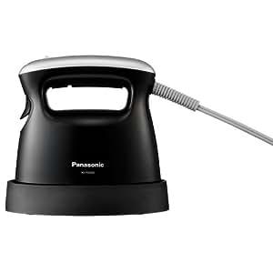 パナソニック アイロン/パンツプレス 衣類スチーマー ブラック NI-FS350-K