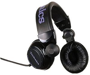 パナソニック Technics RP-DJ1200 DJヘッドホン ブラック 日本製 [並行輸入品]