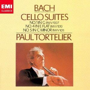 バッハ:無伴奏チェロ組曲第1番&第4番&第5番