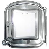 ホンマ製作所 ストーブ 部品 時計型薪ストーブ用 ガラス付き替え扉 ASW-GK 17001 honma-017