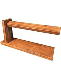 木製ウォッチレストバーK01 ディスプレイスタンド リッチチーク ウォッチスタンド