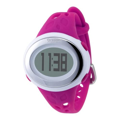 [オレゴン]Oregon 腕時計 エントリーモデル デジタル心拍計 フィンガータッチ式 消費カロリー表示 ストップウォッチ機能付き ピンク SE332PK レディース 【正規輸入品】