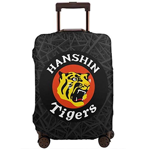 阪神タイガース スーツケースカバー トランクカバー 荷物カバー ラゲッジカバー キャリーカバー スーツケース保護 防塵 傷防止 伸縮素材 旅行 出張
