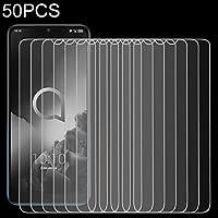 携帯電話強化ガラスフィルム アルカテル3 2.5D非フルスクリーン強化ガラスフィルムの50 PCS 強化フィルム