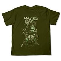 聖闘士星矢 ドラゴン紫龍Tシャツ モス サイズ:M