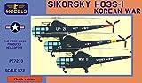 LFモデル 1/72 アメリカ海軍・海兵隊 シコルスキー HO3S-1 朝鮮戦争 プラモデル LFMPE7233