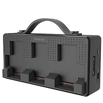 Smatree DP160 DJI Mavic Airバッテリー用急速充電器、モバイルバッテリー  仕様書付き