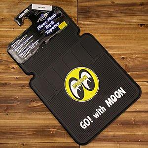 RoomClip商品情報 - ムーンアイズ(MOONEYES) ラバーフロアマット フロント用 2枚組 アイボール_CM-MP075BK-MON