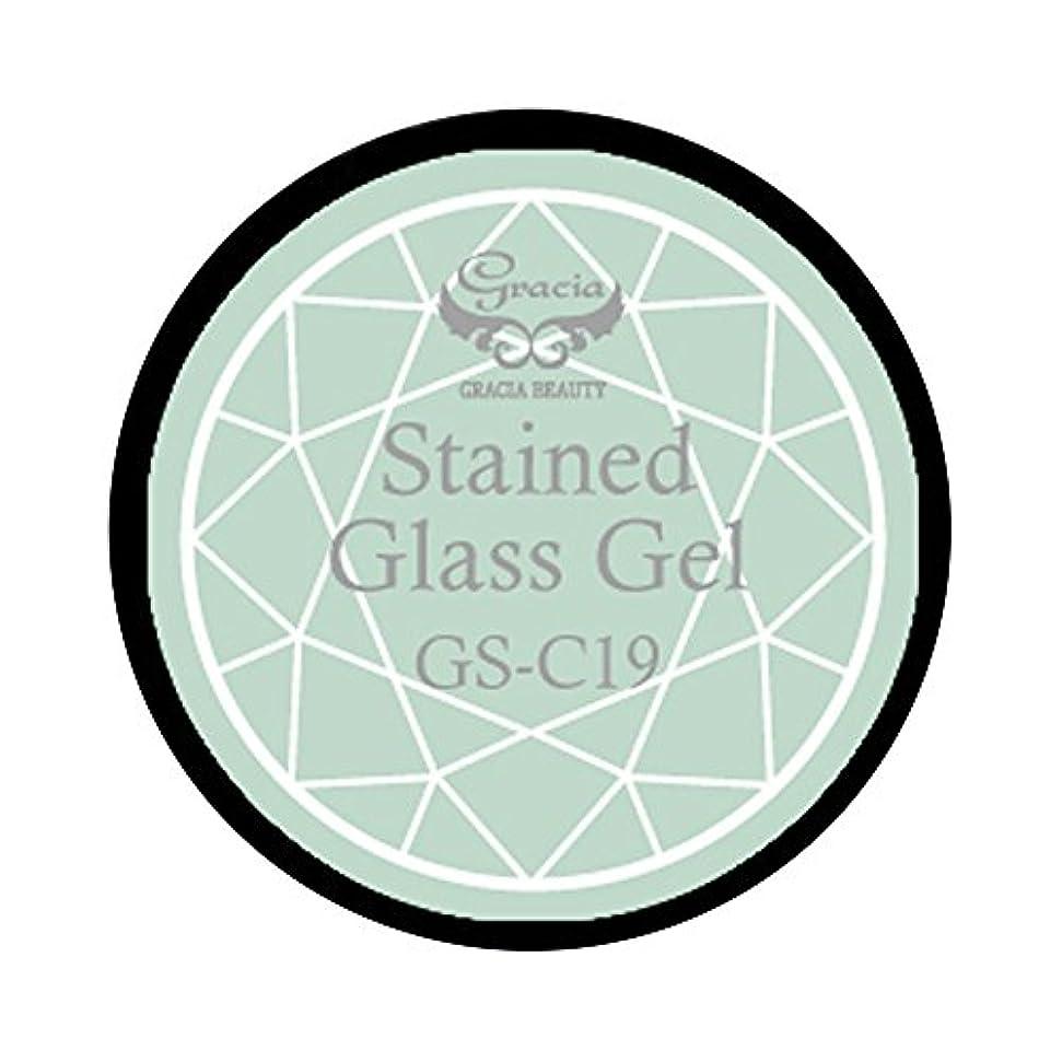 ネコすべき混合グラシア ジェルネイル ステンドグラスジェル GSM-C19 3g  クリア UV/LED対応 カラージェル ソークオフジェル ガラスのような透明感