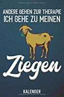 Kalender: 2020 A5 1 Woche 2 Seiten - 110 Seiten - andere gehen zur Therapie Ziegen